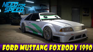 1990 ford mustang need for speed ford mustang foxbody 1990 build
