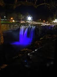 noccalula falls christmas lights 2017 ipernity noccalula falls at christmas by ceropegia