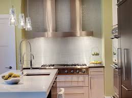 How To Install Glass Tile Backsplash In Bathroom Silver Glass - Contemporary backsplash