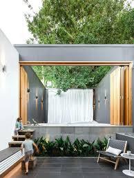 Modern Backyard Design Ideas Modern Backyard Design Simple Kitchen Detail