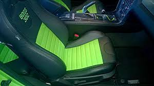 2010 mustang seat covers 2010 2014 mustang leather upholstery kits with logos free shipping