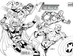 100 ideas marvel super heroes coloring pages free on