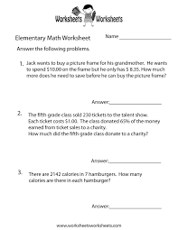 6th grade math word problem worksheets u0026 quiz eighth graders with