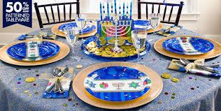 hanukkah tableware hanukkah celebrations party supplies party city