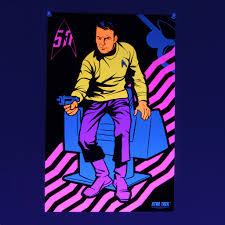 free black light posters mopop shop star trek blacklight poster set comes with free spock
