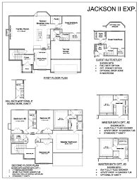Floor Plan With Elevation by Jackson Ii Expanded