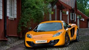 orange mclaren 2013 orange mclaren mp4 12c front view wallpaper car wallpapers