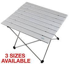 compact folding beach table qisiewell cing table aluminum outdoor folding beach compact