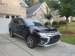 mitsubishi crossover 2016 a family trip to the park in the 2016 mitsubishi outlander