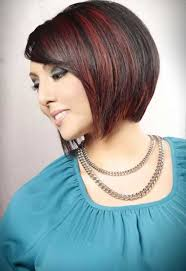 slanted hair styles cut with pictures angled bobs with bangs short hairstyles 2016 2017 most