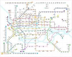 Guangzhou Metro Map by Shanghai Beijing Shenzhen Guangzhou This Is What Your Subway