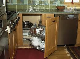 kitchen cabinet blind corner solutions increase the functionality of your blind corner cabinet