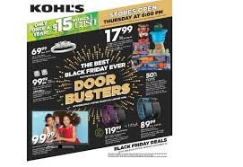 best online deals black friday canada kohl u0027s releases its 2015 black friday ad houston chronicle