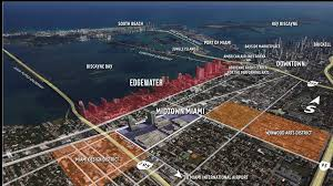 Map Of South Beach Miami by Hyde Midtown