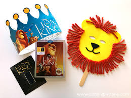 lion mask craft the lion king lion mask craft a giveaway simply