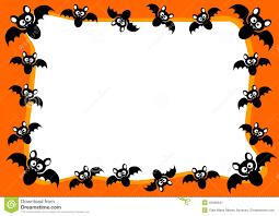 Free Scary Halloween Invitation Templates by Halloween Border Templates Contegri Com
