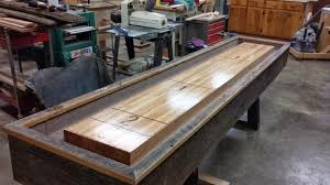 antique shuffleboard table for sale furniture used shuffleboard table being repaired magnificent