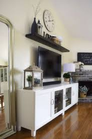 Wall Shelves Design by Top 25 Best Shelf Above Tv Ideas On Pinterest Tv On Wall Ideas