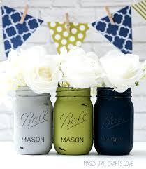 jar wedding blue green gray jar wedding vases jar crafts