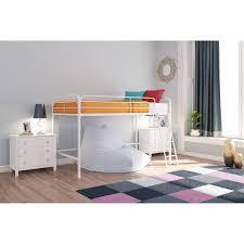 dhp junior twin loft bed multiple colors walmart com