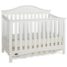 Graco White Convertible Crib by Graco Cribs Harbor Lights Convertible Crib With Mattress In White