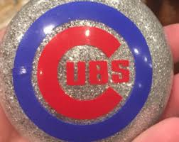 chicago cubs ornament etsy