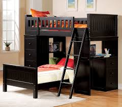 Bunk Bed Computer Desk Acme Furniture Willoughby Loft Bed Reviews Wayfair