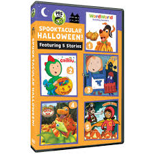 pbs kids spooktacular halloween dvd shop pbs org