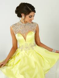 hannah s 27067 a line satin short prom dress dressprom net