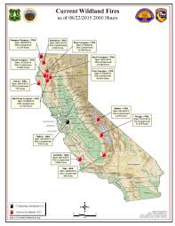 Cal Map California Fires Map September 2015 Kemerovo Me