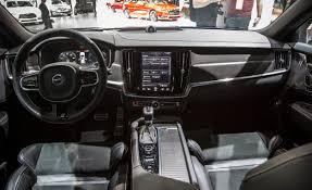r design volvo 2018 volvo v90 wagon looks in r design form news car and