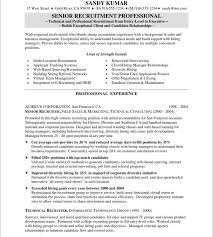 Us It Recruiter Resume Sample Download Recruiter Resume Sample Haadyaooverbayresort Com