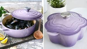 purple lilac le creuset introduces vibrant new