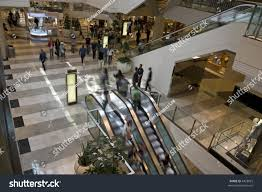 electric stairs shopping center slow shutter stock photo 4428025