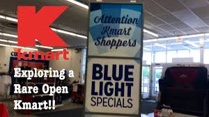 exploring a non abandoned big kmart blue light specials