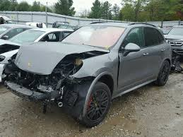 porsche cayenne 2016 colors salvage 2016 porsche cayenne gts suv for sale salvage title