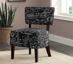 Unique Accent Chairs by Striped Pattern Gray Fabric Small Accent Chairs With Arms Features