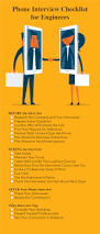resume and interview tips phone interview tips for engineers infographic of phone interview tips for engineers