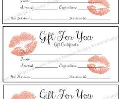 printable gift card printable gift certificate lipsense senegence gift card
