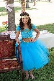 Jasmine Costume Halloween Disney Inspired Aladdin Princess Jasmine Genie Tutu Naomiblu
