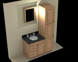 Bathroom Vanity With Linen Tower Bathroom Tower Cabinet Office Table