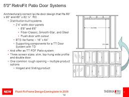 60 X 80 Sliding Patio Door by Therma Tru College New Products Ppt Video Online Download