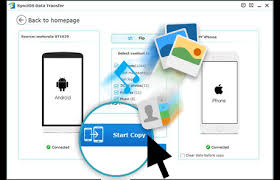 how to transfer apps from iphone to android move to ios app syncios best alternative to move to ios app