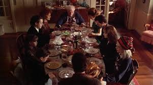 what was served at the first thanksgiving meal in search of the perfect thanksgiving holiday movie meal bay