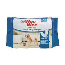 wee wee disposable male dog wraps petco