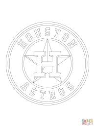 houston astros logo coloring page free printable coloring pages