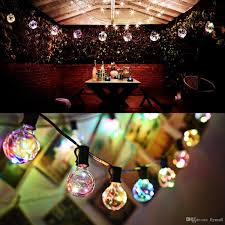 Vintage Globe String Lights by Vintage G40 Globe String Lights With 25 Clear Bulbs Copper Wire
