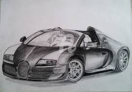 bugatti car drawing bugatti veyron supersport vitesse w16 4 bruno cardoso