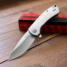 Groomsmen Gifts Knife Kershaw Pico Folding Knife With Assisted Opener Personalized