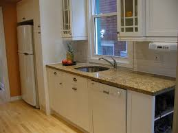 Design Ideas For Small Galley Kitchens by Most Galley Kitchens Tend To Be Dark Since They Are A Dead End